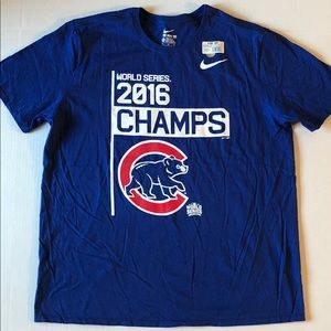 Nike T Shirt Chicago Cubs 2016